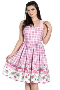 Strawberry Shortcake Summer Dress by Hell Bunny - S ONLY